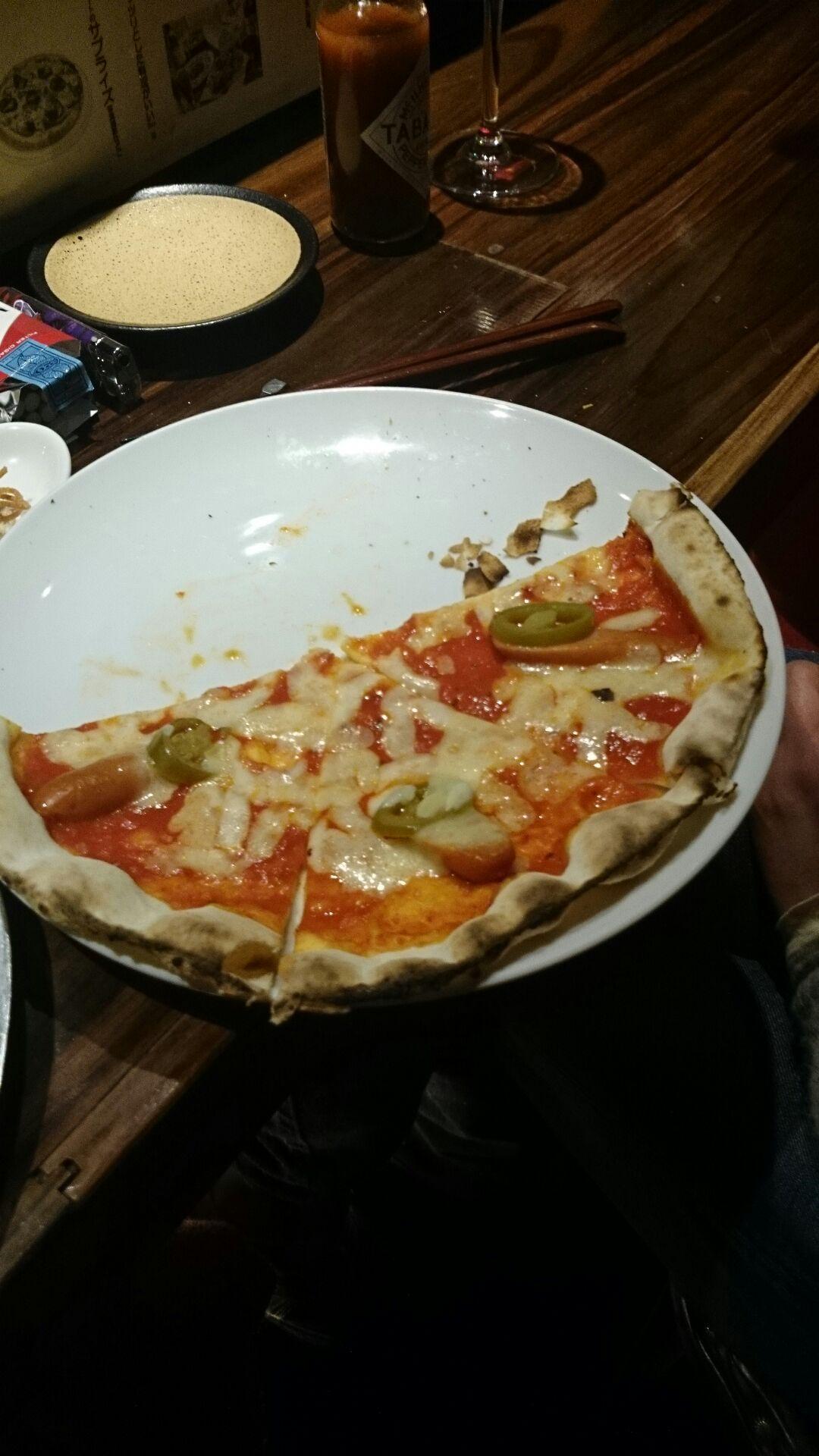 国分寺 TIGER BALのピザ
