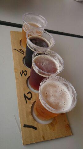 ご当地ビール4種類